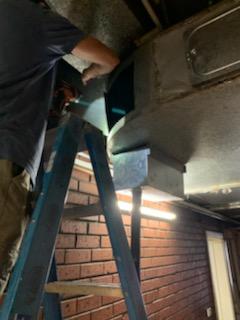 Kitchen Exhaust Fan Cleaning
